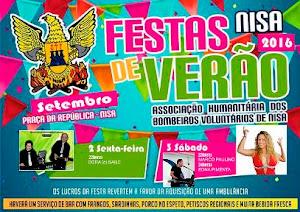 NISA: FESTAS DE VERÃO DOS BOMBEIROS VOLUNTÁRIOS