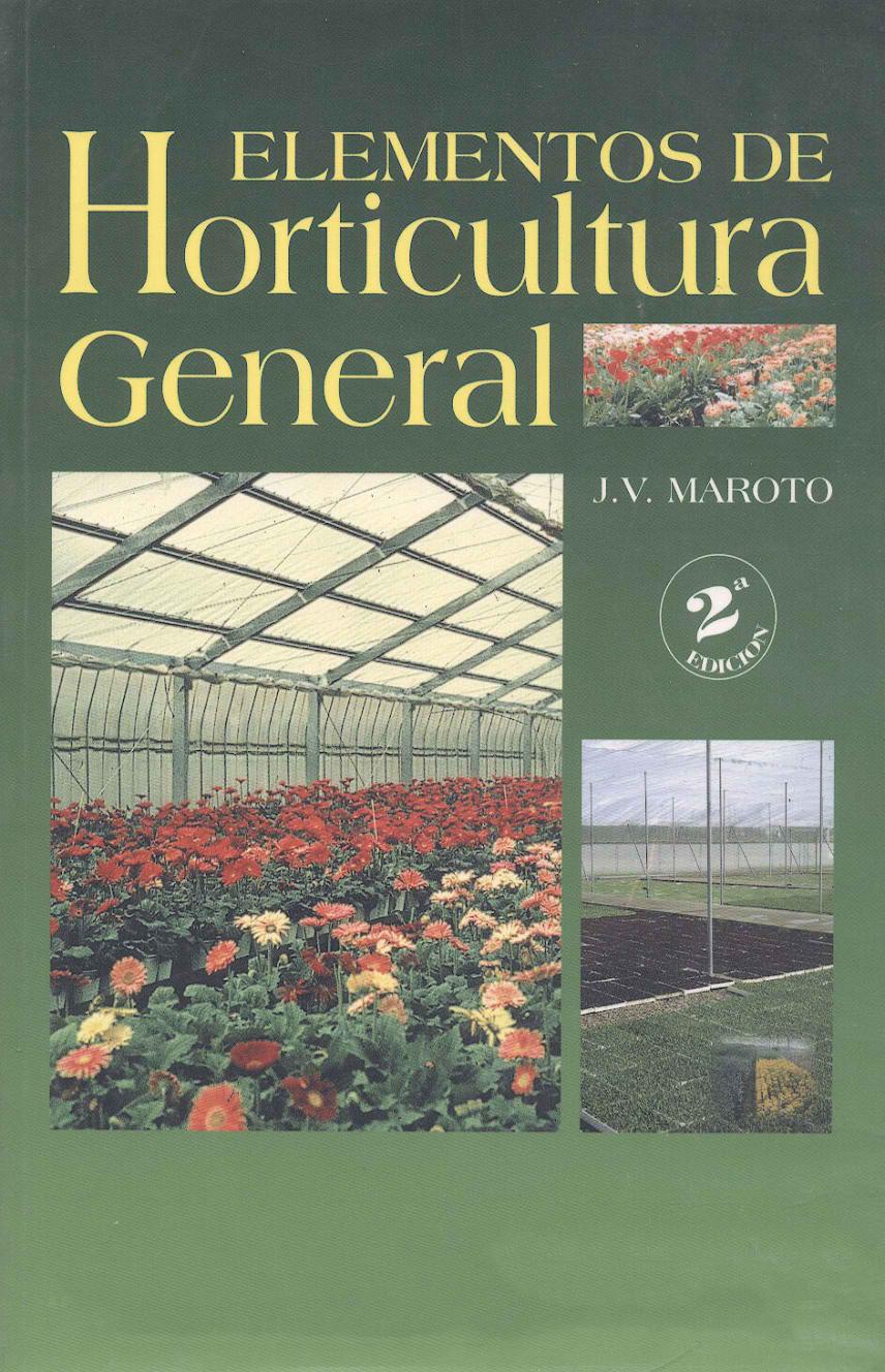 f p agraria elementos de horticultura general