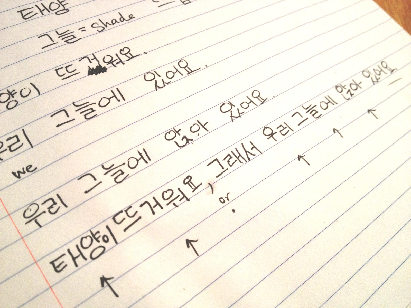 How to Write Korean by Hand