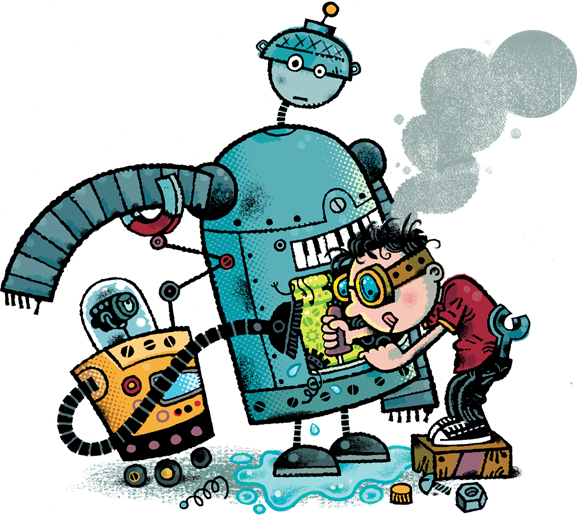Hora de Ler: Frank Einstein e o Motor Antimatéria - Jon Scieszka