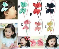 Bow hairband -- HA703 Price:RM18 per piece