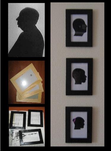 La soffitta di marilou ritratto di famiglia for Cornici su misura ikea