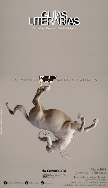 """El ciclo """"Guías literarias"""" presenta a Armando Alanís Canales en el CCLXV"""