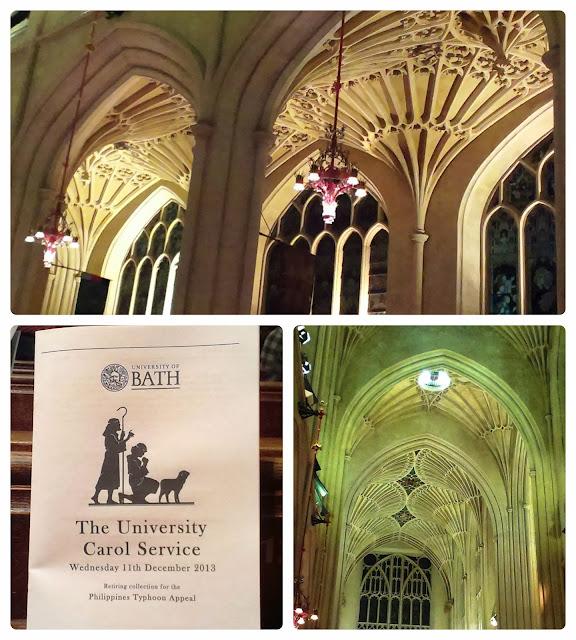 Bath Abbey Carol Service
