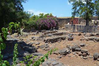 ruinas de Cafarnaum