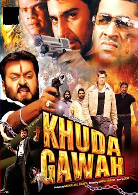 Poster Of Return of Khuda Gawah (2004) Full Movie Hindi Dubbed Free Download Watch Online At worldfree4u.com