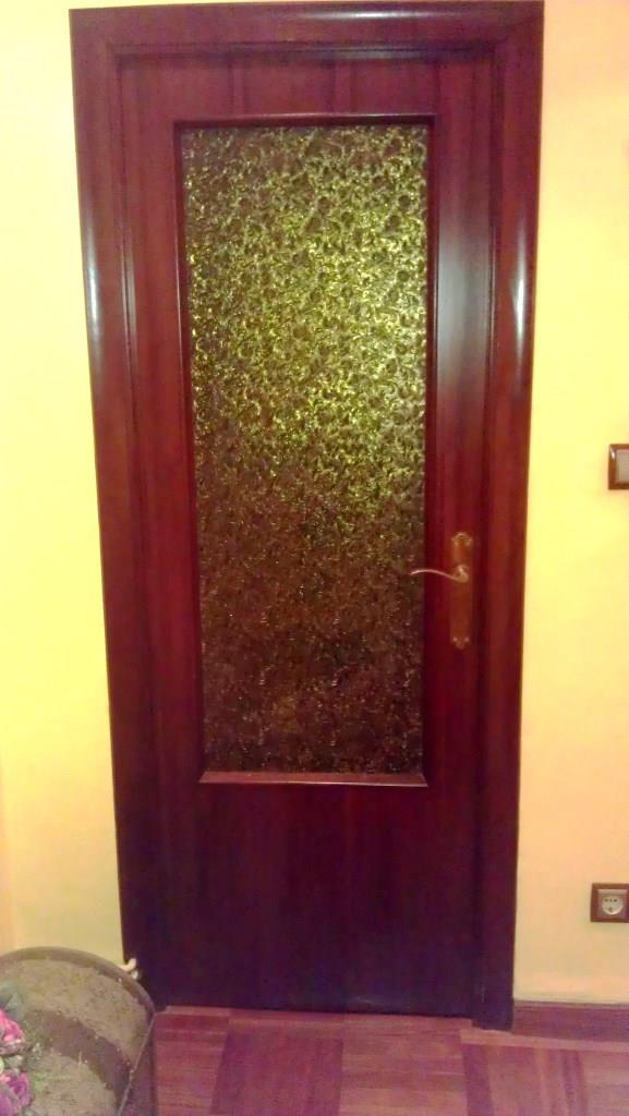 T preguntas c mo pintar el cristal de un puerta for Como pintar puertas de sapeli