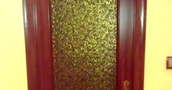 T preguntas c mo pintar el cristal de un puerta - Pintar puertas barnizadas ...