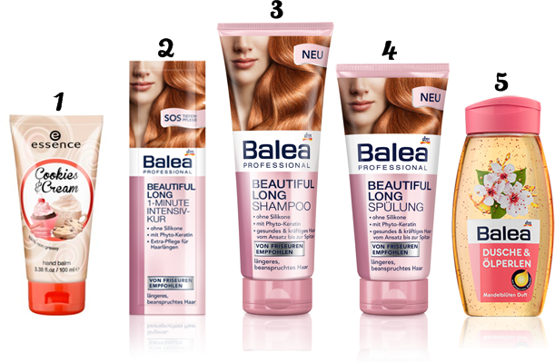 balea long shampoo conditioner