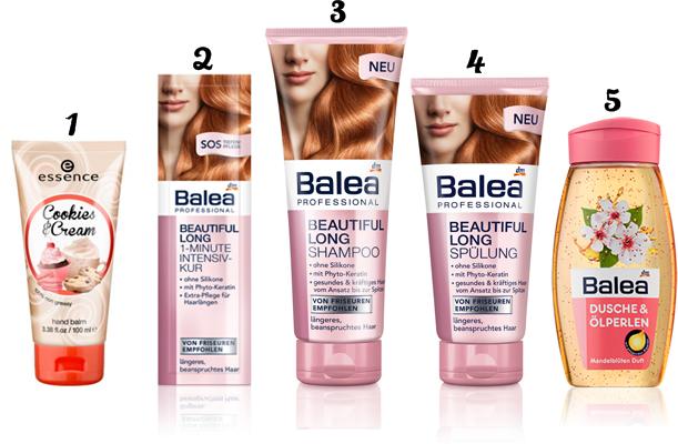 balea long shampoo conditioner