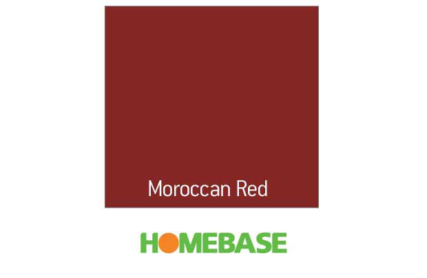 i can not wait to get started for under 95gbp we have all the paint for the house except the hallways - Moroccan Red Paint