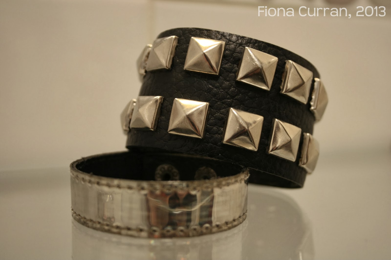 bracelet, cuff, studs, studded, goth