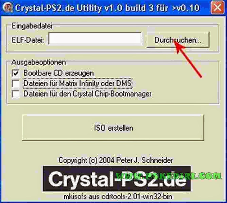 Membuat CD Booting .ELF PS2