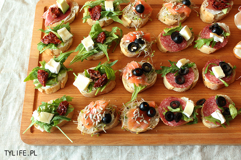 Tartinki taste your life for Types of canape