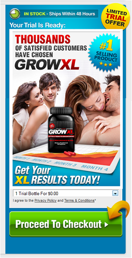 GrowXL Male Supplement Trial