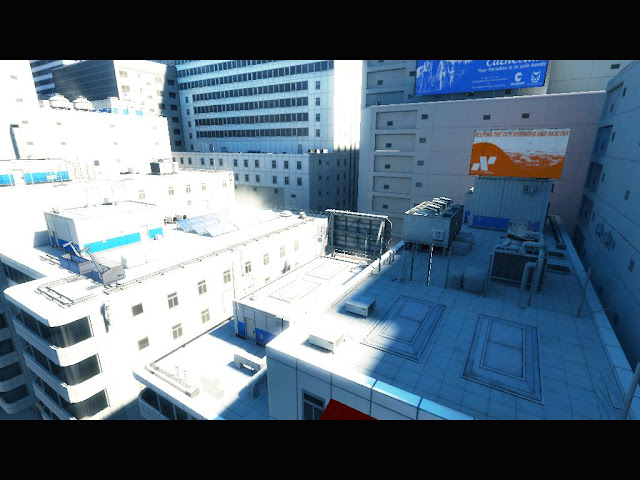 Mirrors Edge Solution