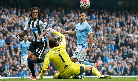 Manchester City 6 x 1 Newcastle - Premier League 2015/16