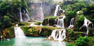 Gambar Pemandangan Alam Air Terjun Tercantik Di Dunia 2400