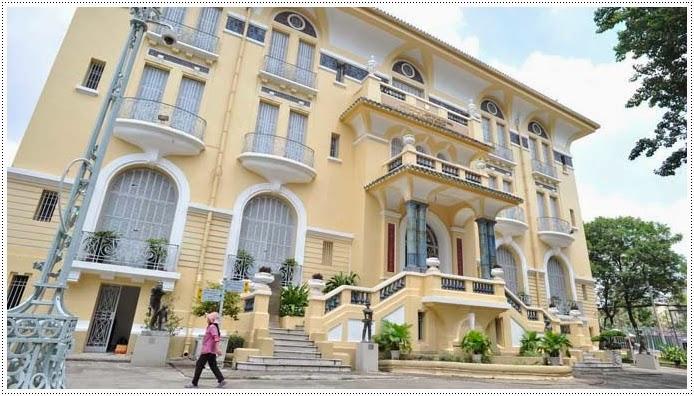 Difference angle of Fine Art Museum Saigon