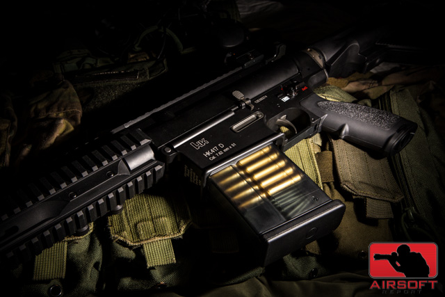 Elite Force HK417D, VFC HK417D, Elite Force HK417 350C, Limited Edition HK417, Airsoft Heckler & Koch HK417D, Airsoft Report, Dave Bakholdin, Tom Harris Media, Pyramyd Airsoft Blog, tominator,