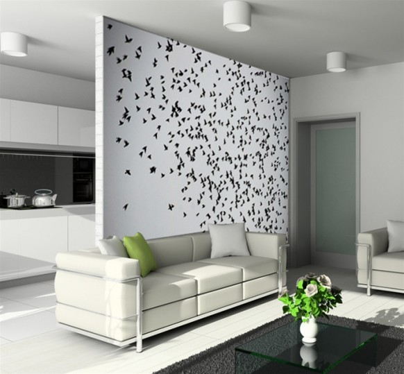 Interior Decor Wall Paintings : Selecting the best wall decor for your home interior