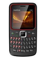 QWERTY Dual SIM Mobile Maxfone ZQ1