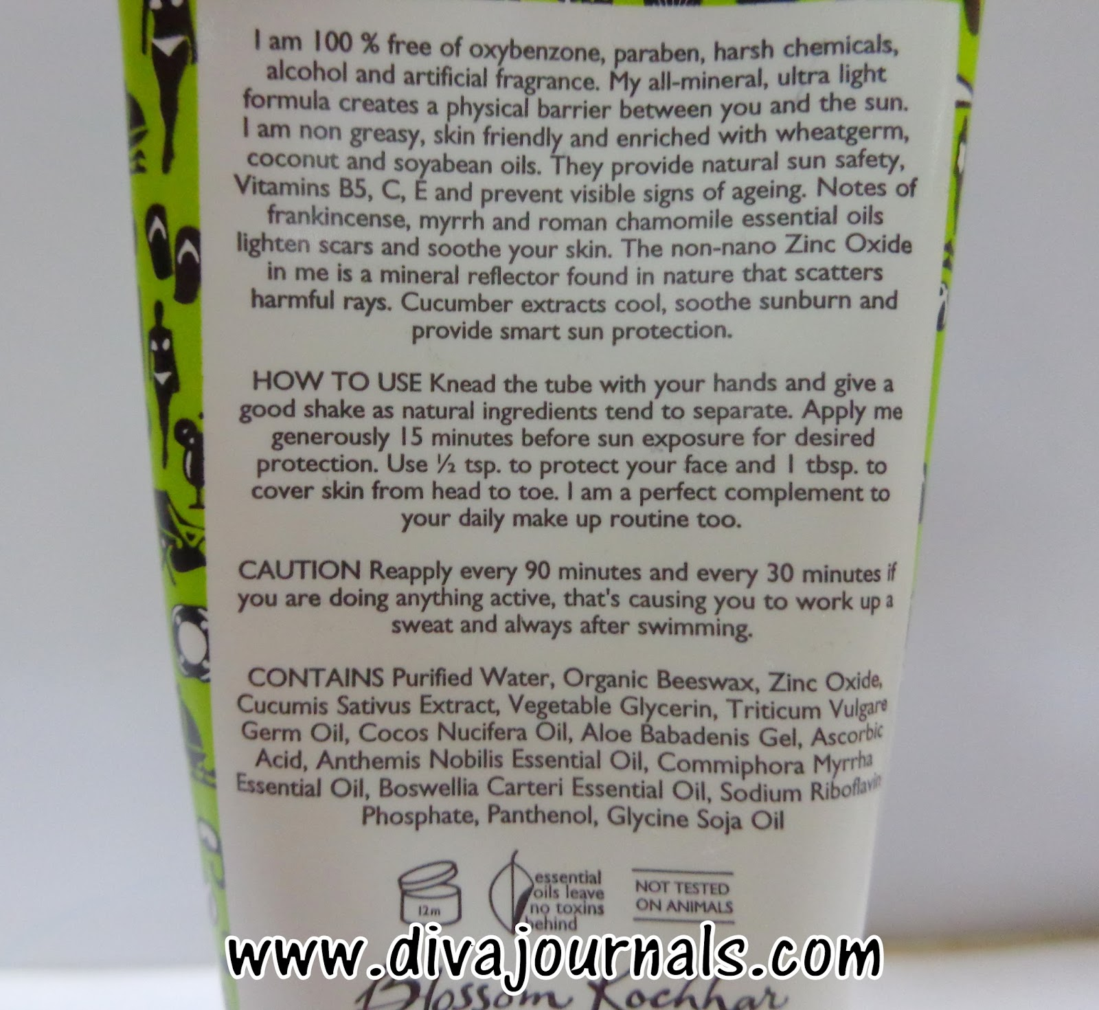 Aroma Magic Cucumber Sunscreen Lotion SPF 30 Review