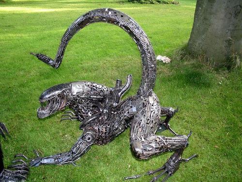 1a-Alien-Monster-Giganten-Aus-Stahl-Ridley-Scott-starring-Sigourney-Weaver
