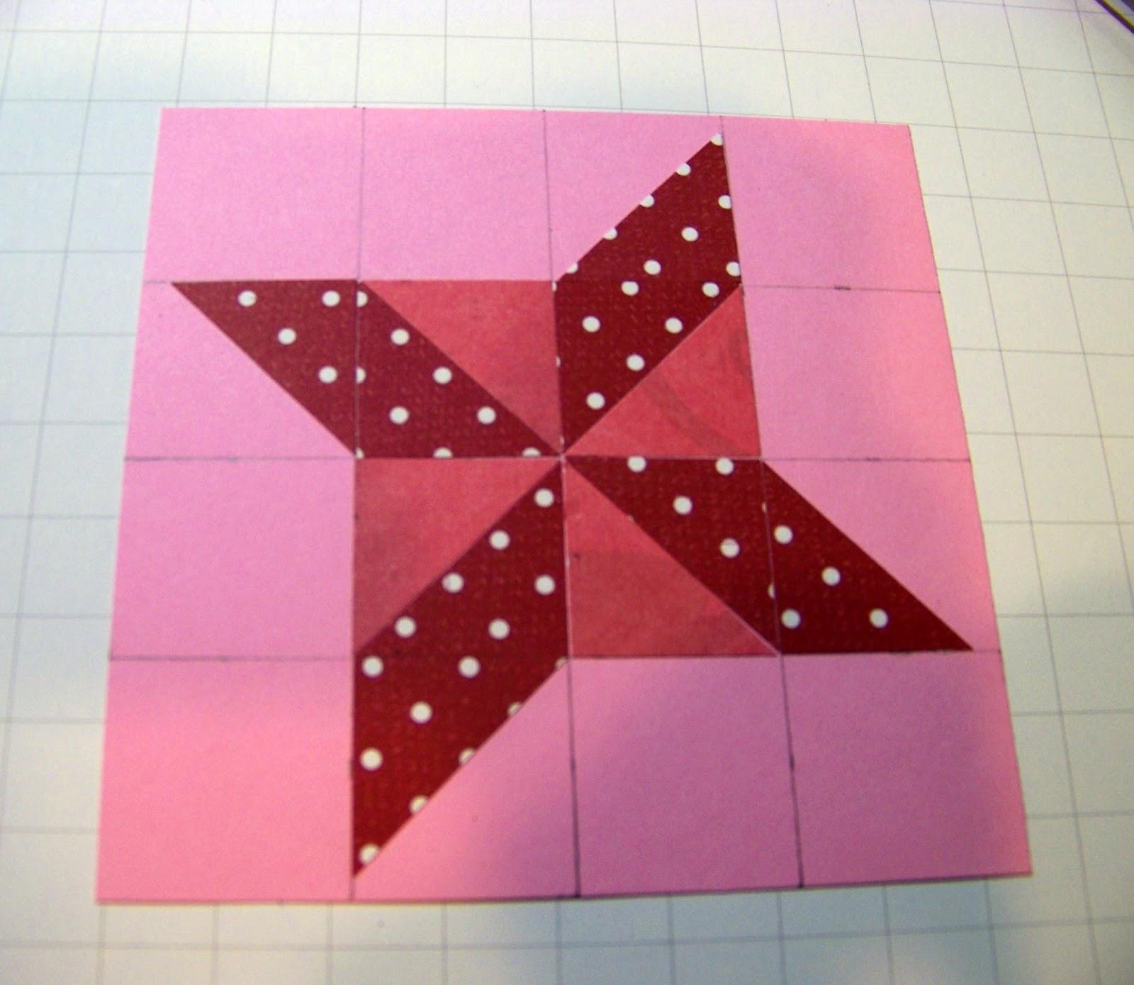 Ann Greenspan's Crafts: A Different Star Quilt Pattern with ... : parallelogram quilt pattern - Adamdwight.com