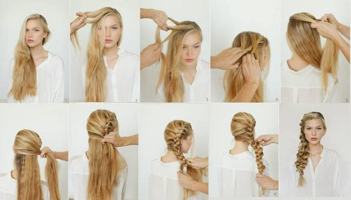 Tutorials For Ladies Hair Styles...