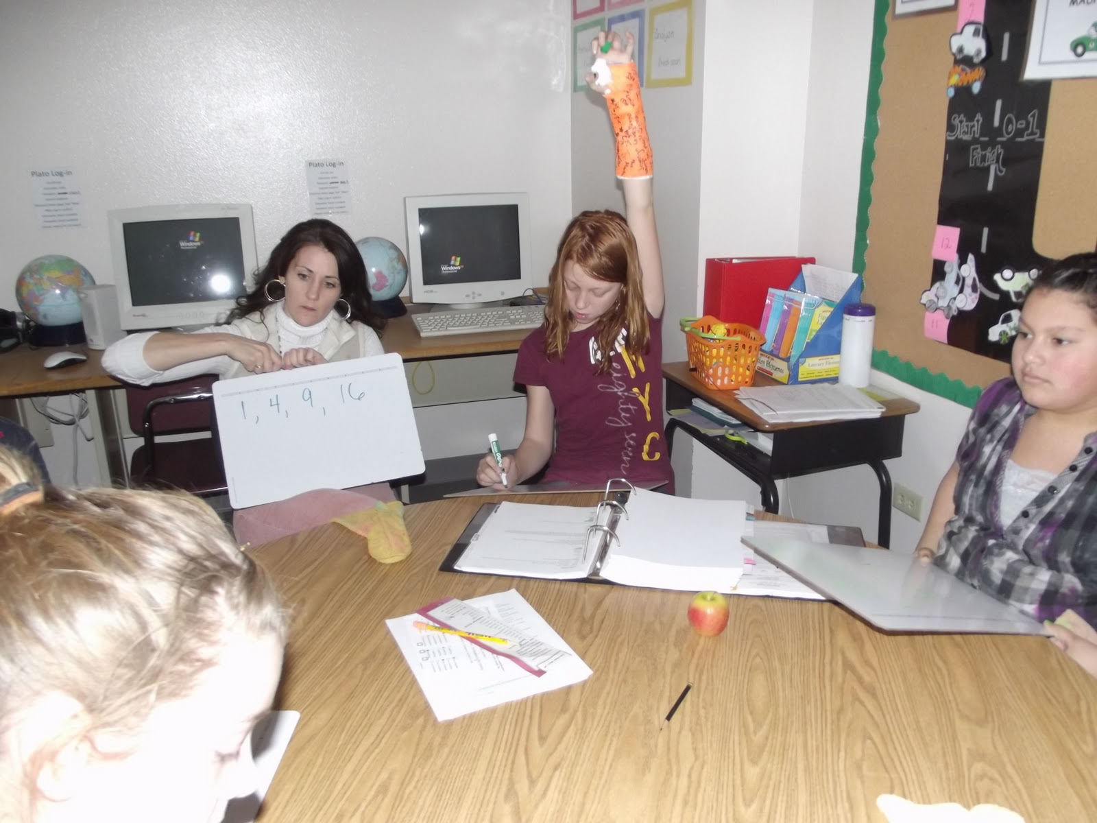 Shoshone Elementary: 5th Grade Math Talk