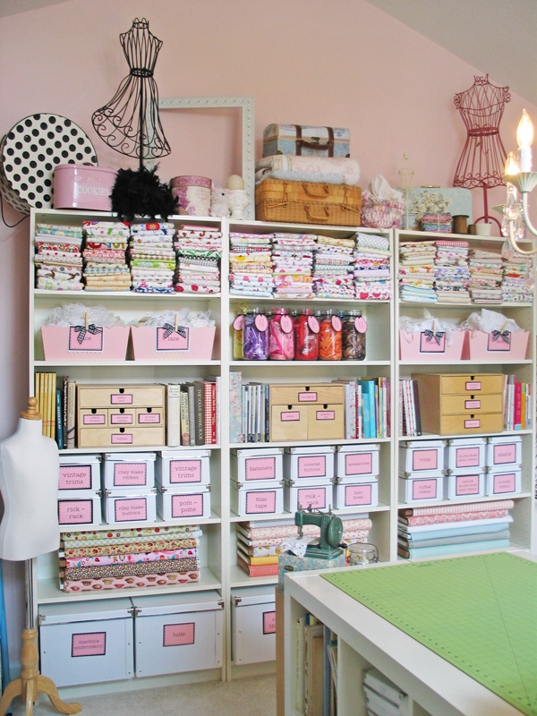 Blossom And Bev Sewing Studio Ideas