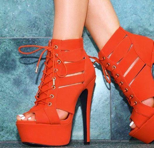 wide high heels