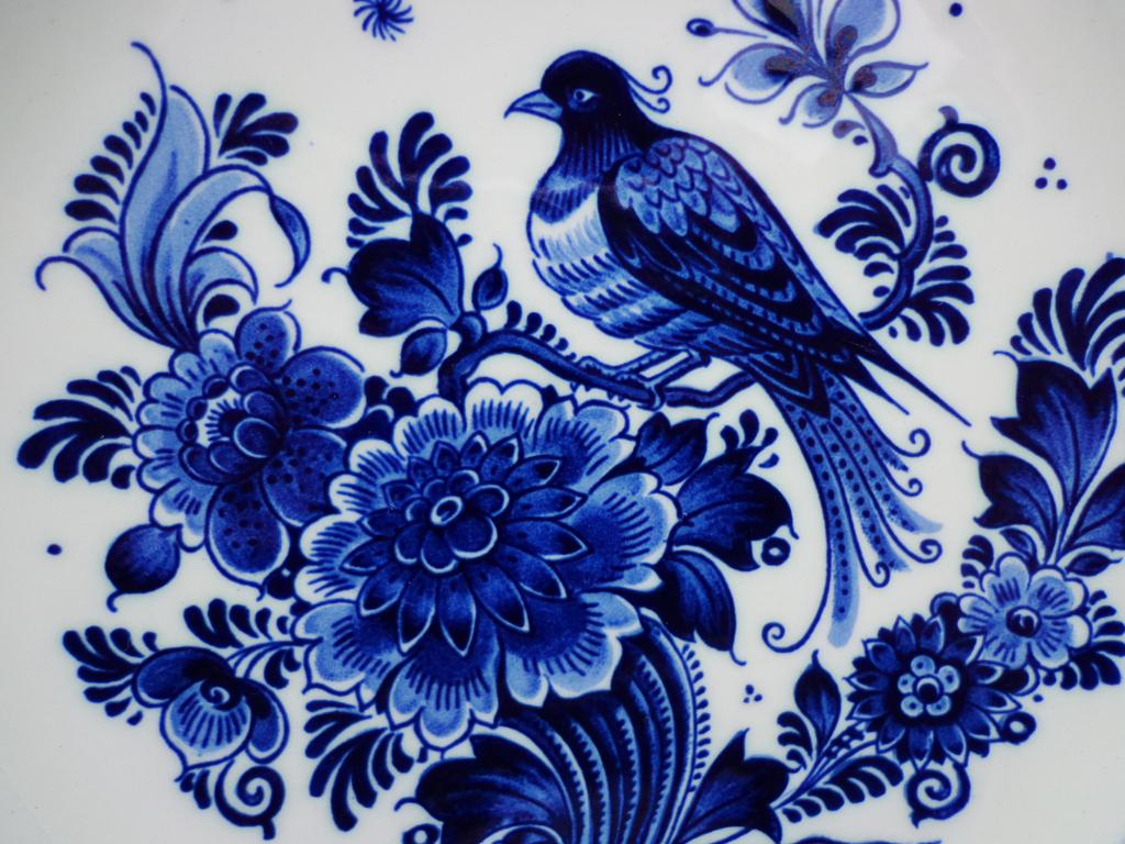 Ellis faas dutch royals and some delft blue designs the for Carrelage 15x15