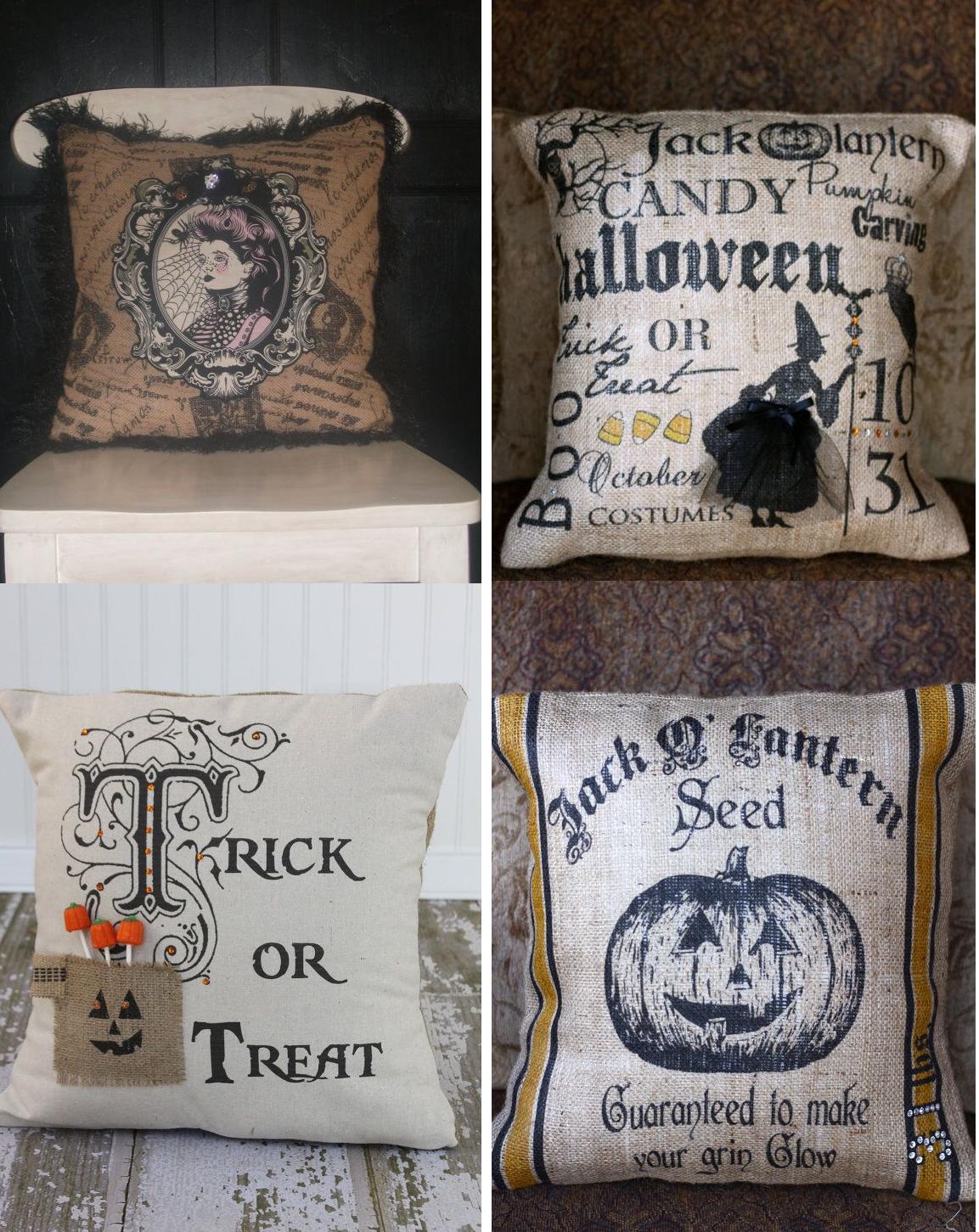 wednesday september 11 2013 - Halloween Pillows