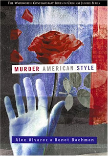 Book Cover for Murder American Style.