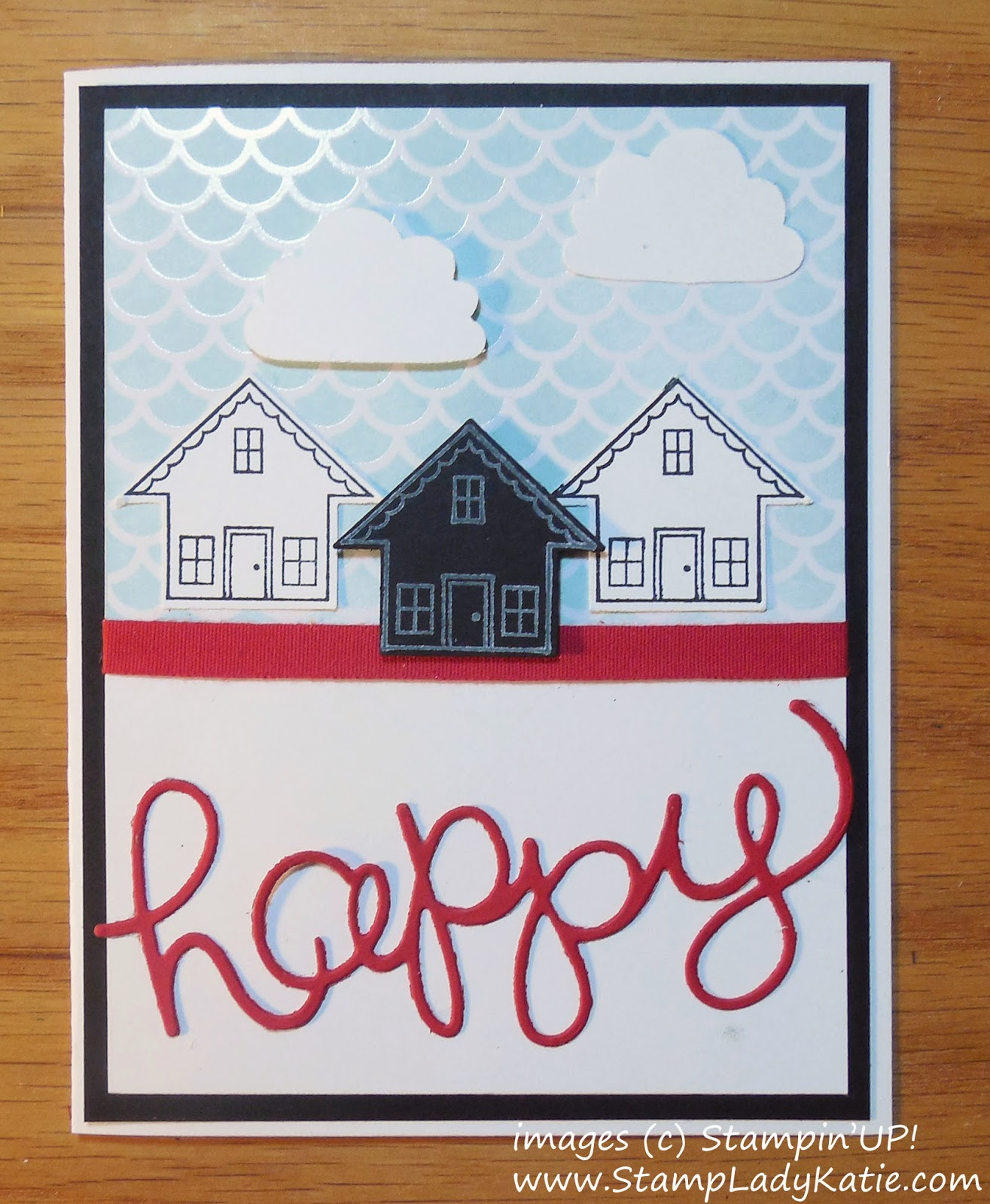 Card made with Stampin'UP!'s Irresistibly Yours Designer Paper and You Brighten My Day Stamp Set