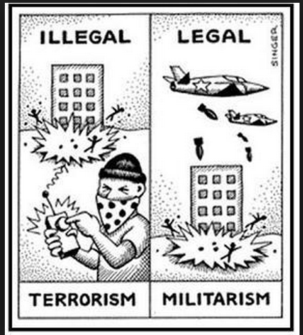 Governments that use terrorism against their own people