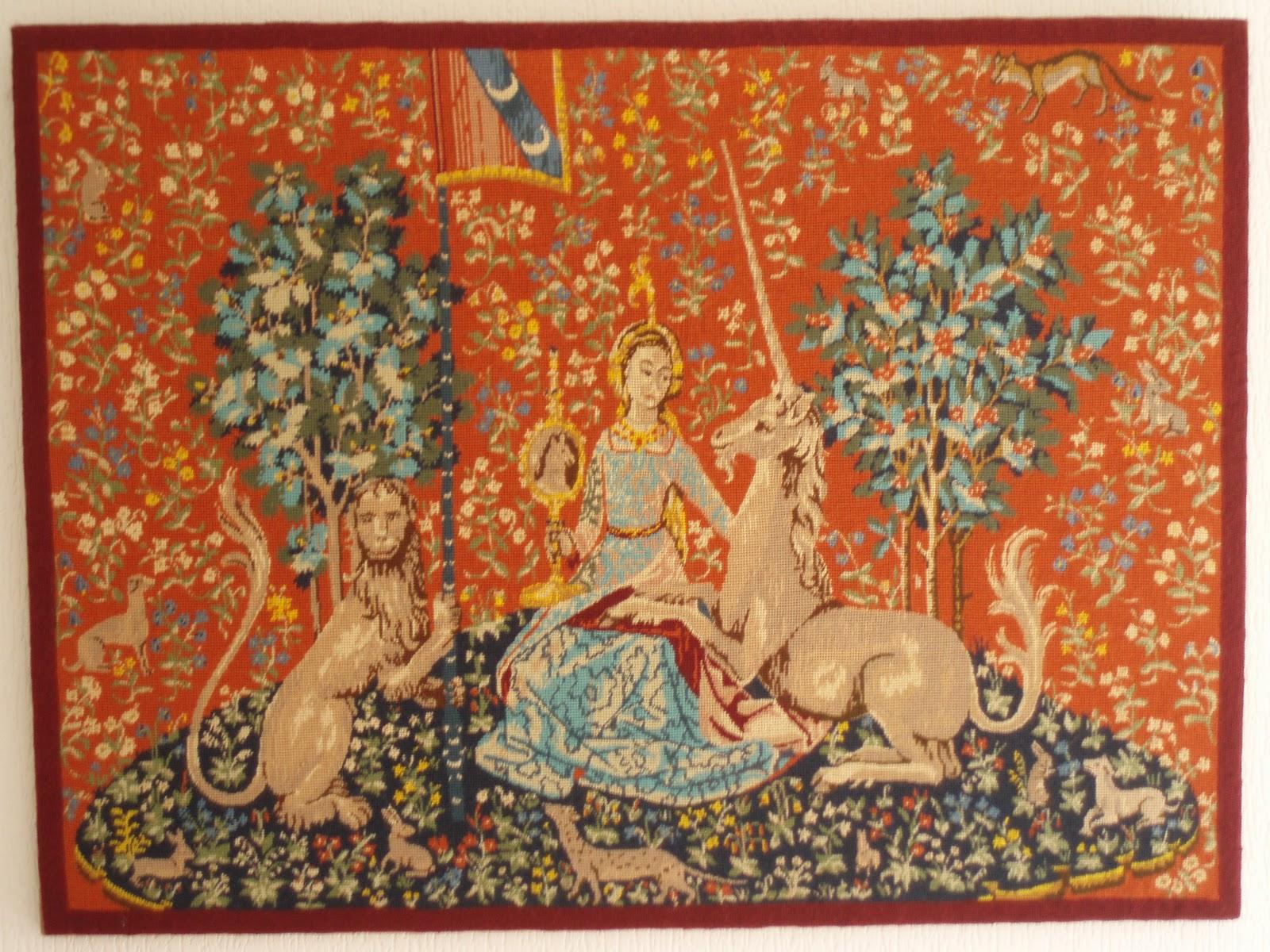 Dans un monde o r gnerait l 39 harmonie licorne de l gende - Tapisserie dame a la licorne ...