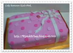 Cake Hantaran hias fondant