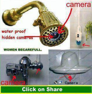 kamera tersembunyi