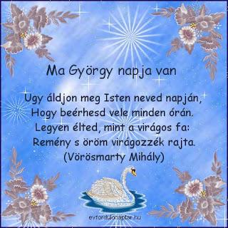 Április 24 - György