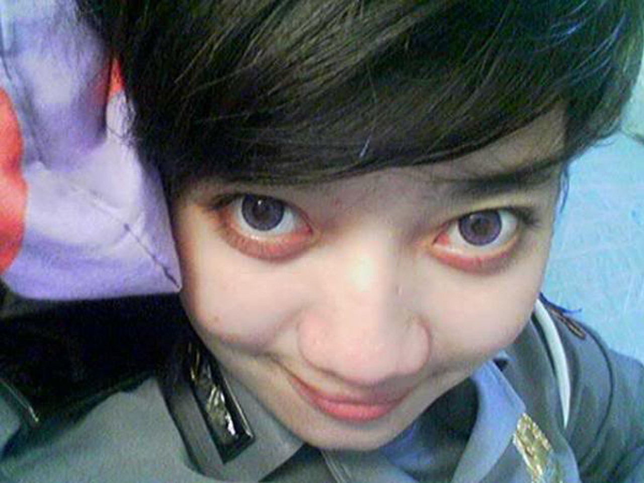 Indonesian cute police 7