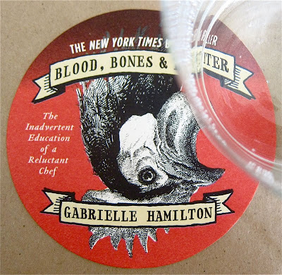 coaster advertising gabrielle hamilton s memoirs blood bones and