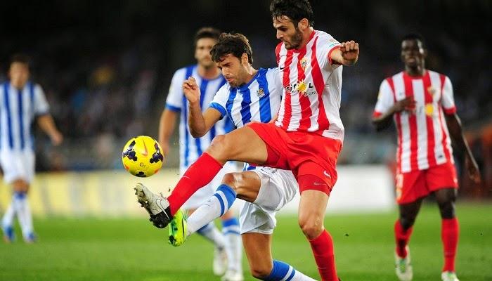 Almeria vs Real Sociedad en vivo