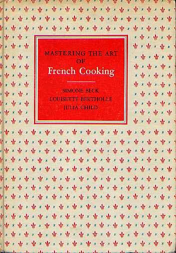 Book cover - Mastering the Art of French Cooking