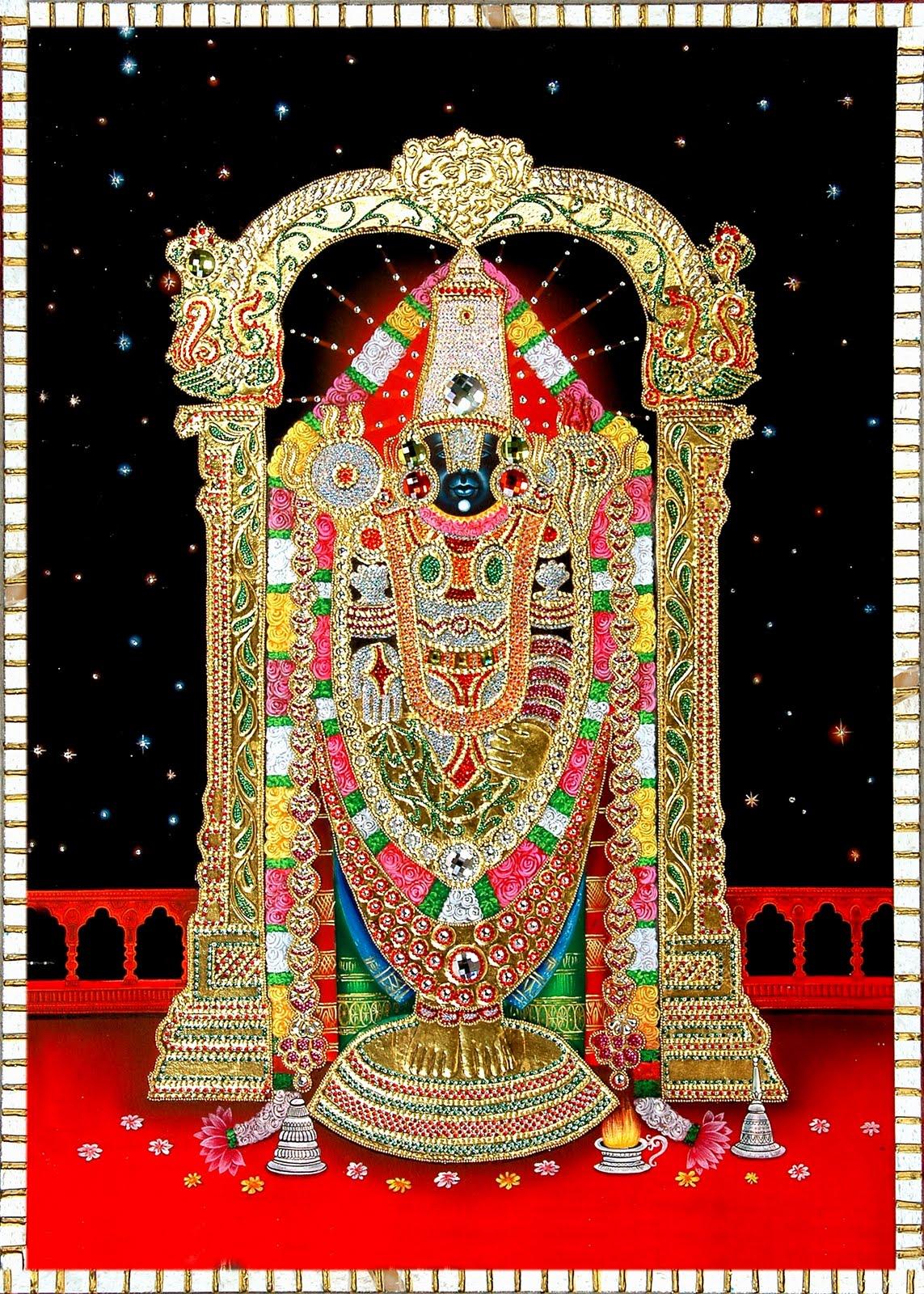 Lord Tirupati Balaji Photos Wallpapers Divine Thought Temples