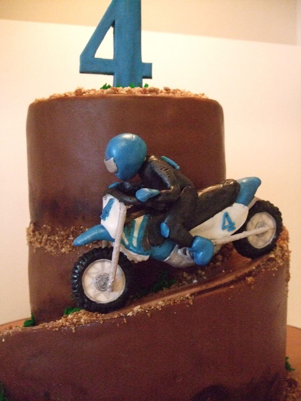 Cake Sophistication The Blog Dirt Bike Birthday
