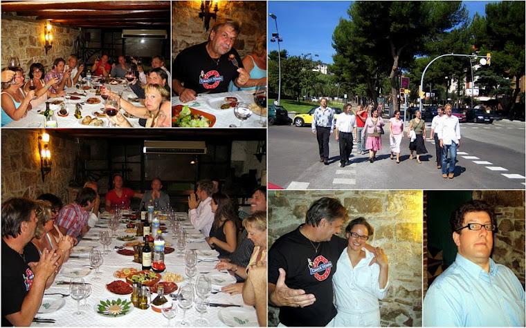 """Gemensam middag """" Katalansk afton"""" på restaurangen Juliett Ramblas (menú. 25 € + 7% moms)"""