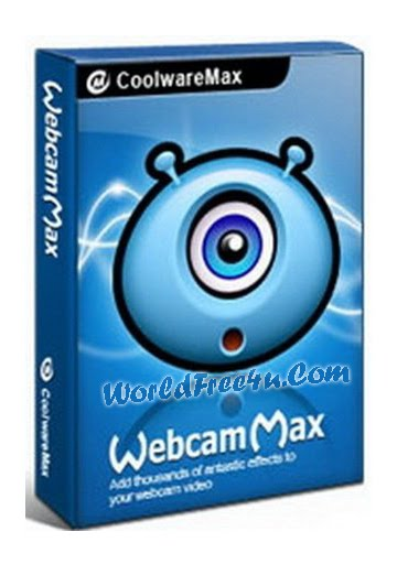 Cover OF WebcamMax 7.6.4.8 Full Latest Version Free Download At worldfree4u.com